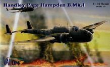 Valom 1/72 Model Kit 72033 Handley-Page Hampden B.Mk.I